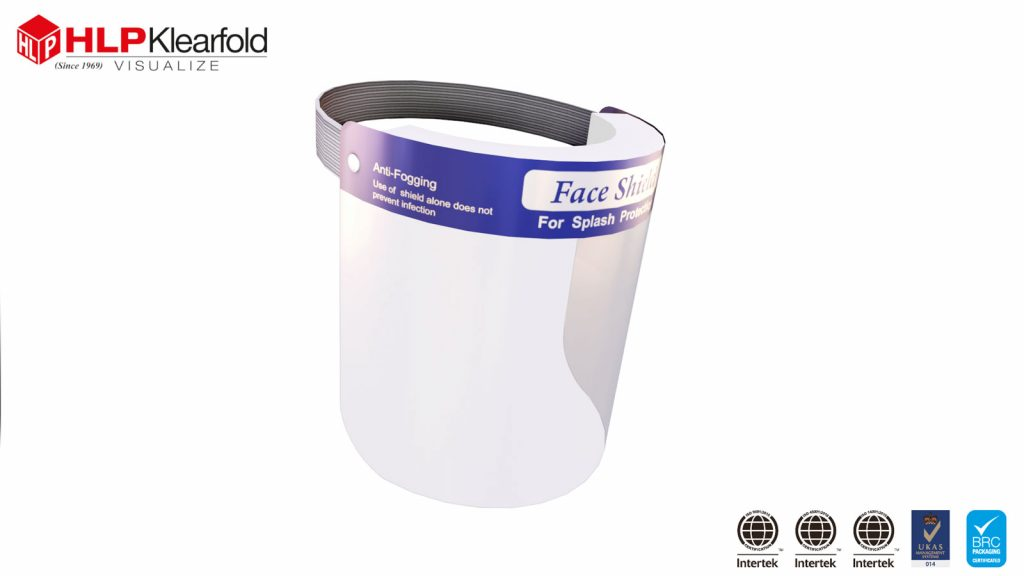 Protector facial tipo B, 2