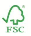 FSC plástico reciclable